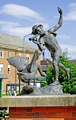 >Boy and the Goose Statue, Derby by Rod Johnson