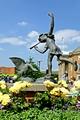 >The Boy and the Goose Statue, Derby by Rod Johnson
