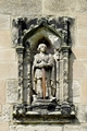 >Figure of St Wystan above Porch Door by Rod Johnson