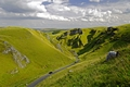 >Winnats Pass near Castleton by Rod Johnson