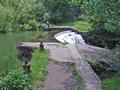 >River Wye, Weir by Rod Johnson