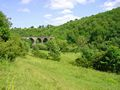 >Across the Dale to Monsal Viaduct by Rod Johnson