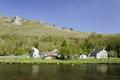 >Riverside Setting at Monsal Dale by Rod Johnson