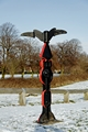 >Horninglow Linear Park Signpost by Rod Johnson