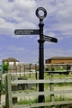 >Ashby Canal Signpost, at Moira Lock by Rod Johnson