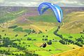 >Paragliding off Mam Tor-01 by Rod Johnson