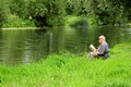 >Taking a Break From Fishing by Rod Johnson