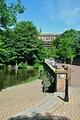 >Minster Pool and Dam Street, Lichfield by Rod Johnson