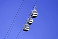 >Cable Cars Above Matlock Bath by Rod Johnson