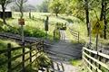 >Unmanned Railway Crossing near Hope by Rod Johnson