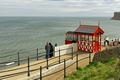 >Saltburn Cliff Tramway, Top Station by Rod Johnson