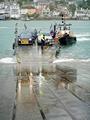 >Lower Ferry Arriving At Dartmouth, Devon by Rod Johnson