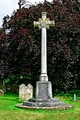 >War Memorial in St George's Churchyard, Arreton by Rod Johnson
