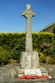>War Memorial, Delabole, Cornwall by Rod Johnson