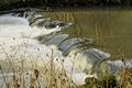 >A Weir Close-up in Wolfscote Dale by Rod Johnson