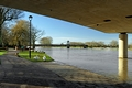 >The River In Flood, Stapenhill Gardens by Rod Johnson