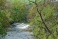 >River Derwent Weir, Baslow by Rod Johnson