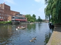 >River Avon and The Royal Shakespeare Theatre by Rod Johnson