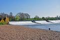 >Weir on the River Dove near Tutbury by Rod Johnson