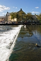 >Across the Weir at Bakewell by Rod Johnson