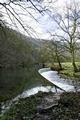 >River Wye Weir, near Ashford-in-the-Water by Rod Johnson