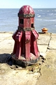 >Old Capstan, Whitby East Pier by Rod Johnson