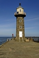 >Disused East Pier Lighthouse, Whitby by Rod Johnson