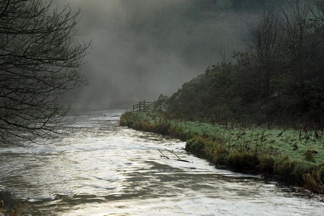>Misty River, Wolfscote Dale by Rod Johnson