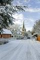 >Church Road, Rolleston on Dove by Rod Johnson