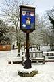 >Rolleston on Dove, Village Sign by Rod Johnson