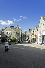 View of Water Street, Bakewell. Link to Streetscapes Gallery.