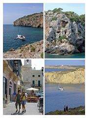Menorca Collage 02 - Labelled, Link to Collages Gallery