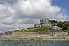 St Mawes Castle from the Ferry. Link to Castles Gallery.